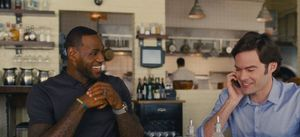 LeBron James gives Bill Hader dating advice