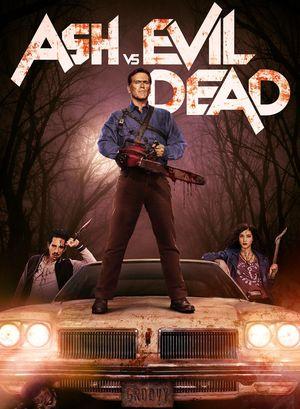 'Ash vs. Evil Dead' on Car Poster