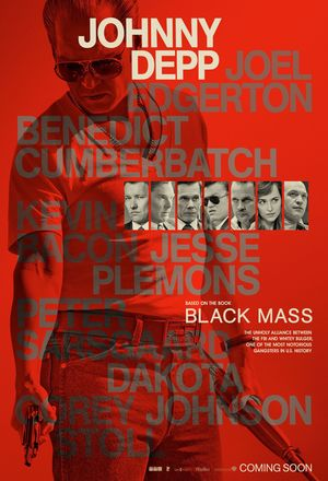 Johnny Depp, Black Mass Poster