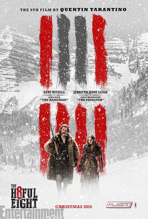 New Poster for Quentin Tarantino's 'The Hateful Eight' Shows
