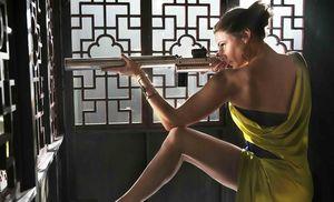 Rebecca Ferguson as Ilsa in Opera scene Mission Impossible
