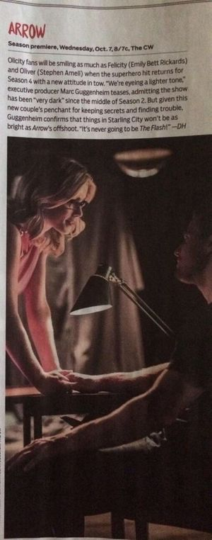 Arrow article in @TVGuideMagazine