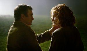 Bryce Dallas Howard and Joaquin Phoenix in M. Night Shyamala
