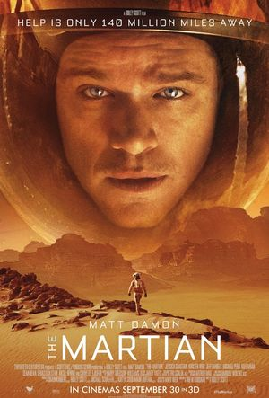 The Martian Poster: Help Is Only 140 Million Miles Away