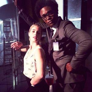 Felicity Smoak & Mr. Terrific