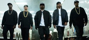 Rap Group N.W.A. Strut
