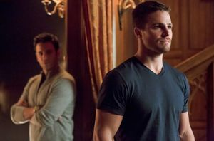 Tommy Merlyn & Oliver Queen