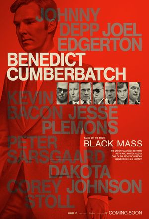 Benedict Cumberbatch, Black Mass Poster