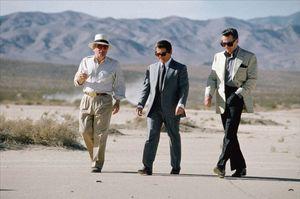 Martin Scorsese, Joe Pesci and Robert de Niro Take a Walk