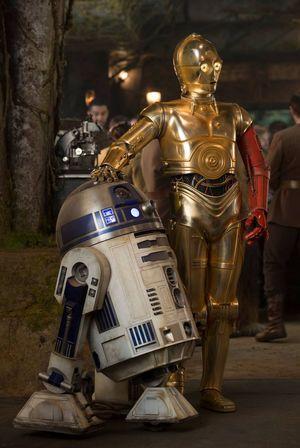 R2-D2, C-3PO
