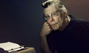 Stephen King, author of 'The Mist' and 'Under the Dome'