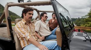 Pablo Escobar in Netflix series Narcos