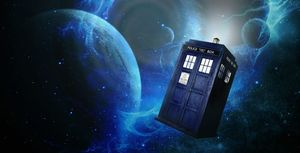 Doctor Who Flying Police Box