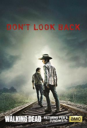 The Walking Dead Rick and Carl Season 4 Poster