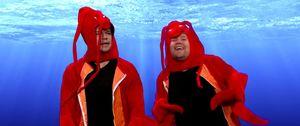 Matt Damon acts out Happy Feet 2