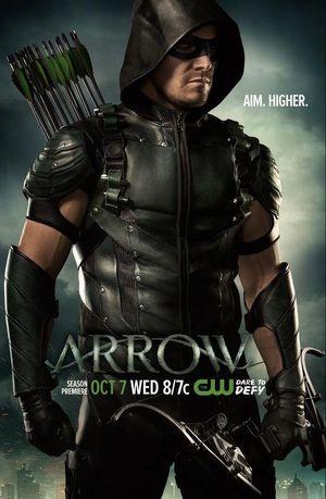 Aim. Higher. - Arrow Season 4 Poster