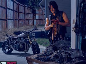 Norman Reedus as Daryl in The Walking Dead, Season 6