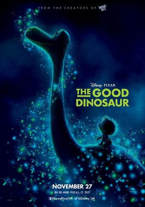 The new poster for Disney-Pixar's 'The Good Dinosaur'