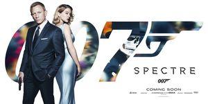White Bond Spectre Gun Banner