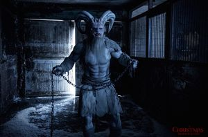 "ROB ARCHER (Kick-Ass 2, Bulletproof Monk) as ""Krampus"""