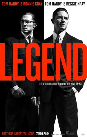 Legend Black and White Poster
