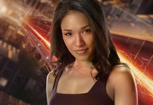 Candice Patton as Iris West in The Flash