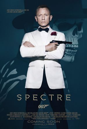 Solo Bond Spectre Poster