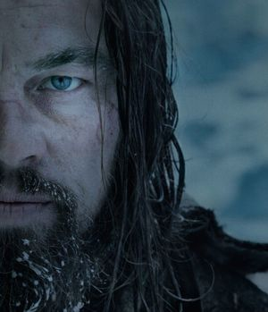 Close-Up Leonardo DiCaprio, The Revenant