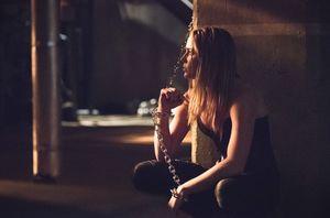 Sara Lance after Lazarus Pit resurrection