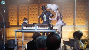 Bruce, Jerome & Barbara in magic show
