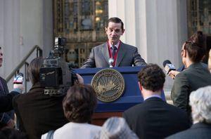Theo Galavan runs for Gotham City mayor