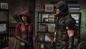 Thea Queen/Speedy & Oliver Queen/Green Arrow
