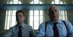 Detective Jim Gordon & Captain Nathaniel Barnes