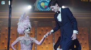 Barbara & Bruce in magic show