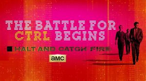Poster for season 1 of Halt and Catch Fire