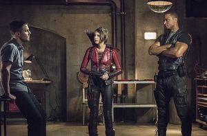 Oliver Queen, Thea Queen/Speedy, John Diggle