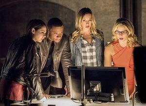 Team Arrow (minus Green Arrow)