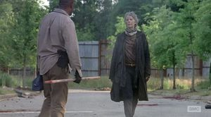 Melissa McBride and Lennie James in The Walking Dead Season