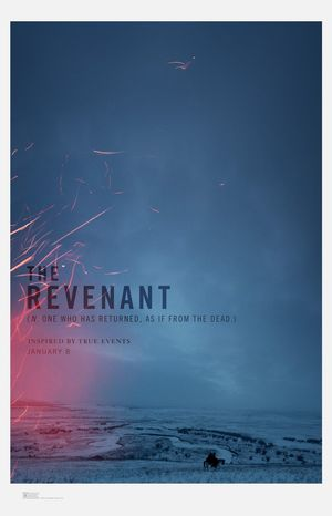 Poster for The Revenant, Starring Leonardo DiCaprio