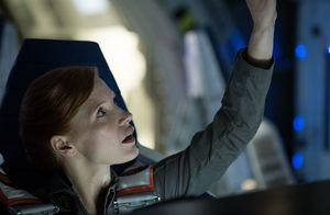 Jessica Chastain is Captain of Spaceship