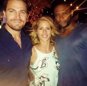 #OTA Original Team Arrow: Oliver Queen, Felicity Smoak, John