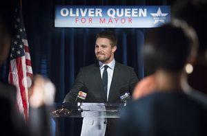 Oliver Queen's mayoral speech