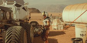 'The Martian' opens with $55 million, just shy of the $55.7