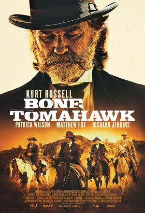 Bone Tomahawk - Kurt Russell Poster