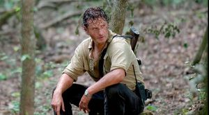 Andrew Lincoln as Rick Grimes, season 6