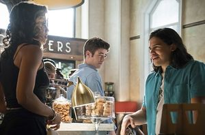 Kendra Saunders, Barry Allen, Cisco Ramon