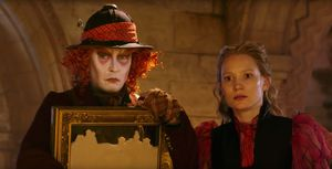 Johnny Depp is back in Alice Through the Looking Glass