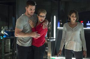 Oliver Queen, Felicity Smoak, Thea Queen