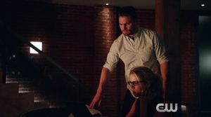 Ray Palmer video messages Felicity Smoak