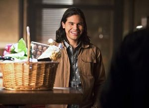 Cisco Ramon on his 1st date re-do with Hawkgirl